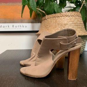 VINCe leather heels